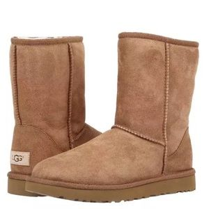 UGG Classic Short II Chestnut Brown Size 11 EUC